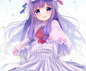 163 images about anime girl purple hair on we heart it