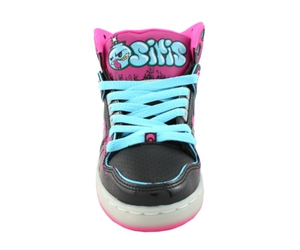 Osiris Black Cyan NYC83 Slim Womens Hi Top Shoe