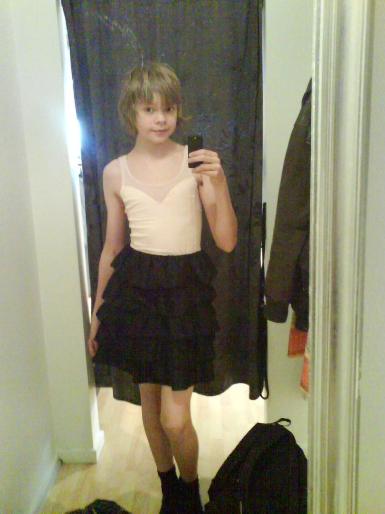Crossdressing New Cute Dress1 By PantsuBoyGirl On