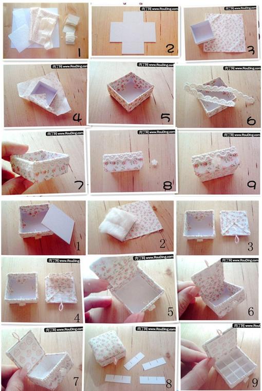 Как своими руками сделать коробочку для украшений