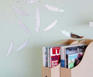 feather wall mirrors
