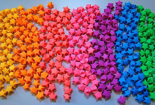 Lucky Star Origami