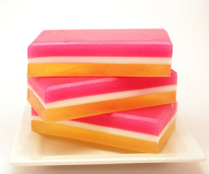 soap pink