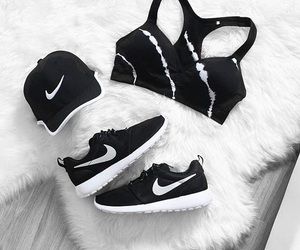 black and white