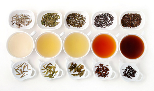 The Five Types of Tea | Flickr – Condivisione di foto!