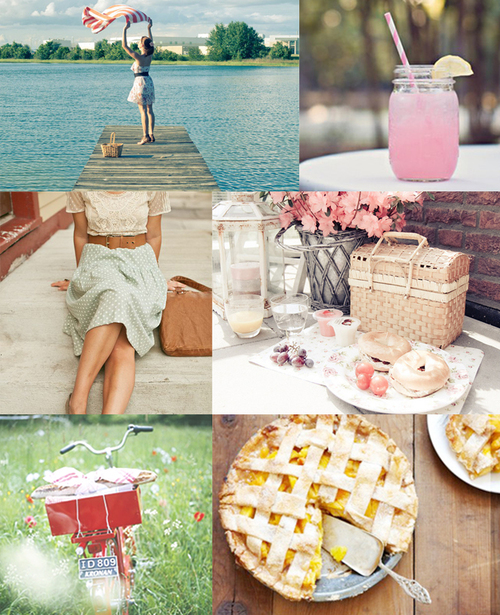 Ruche: Mood Board: Picnic Weekend