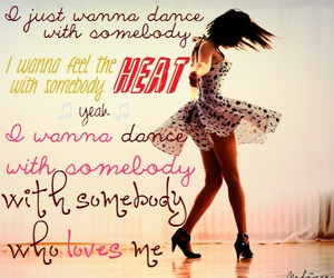 wanna dance with somebody