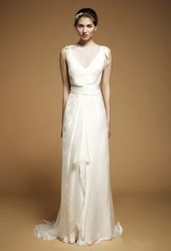 Simple.floor.length.satin.chiffon.wedding.dress.de0ba2661425553ebb0a7338c6f3a57a.image.340x498_large