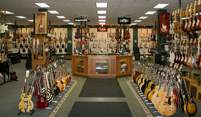 gallery 20 coolest guitar stores in the us volume 2 premier guitar we heart it dave s. Black Bedroom Furniture Sets. Home Design Ideas