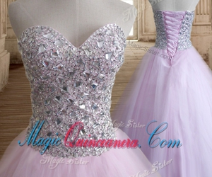 chic quinceanera dress