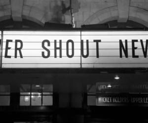 never shout never