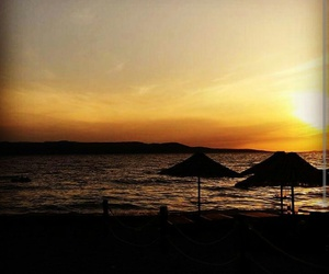 beach summer sunset