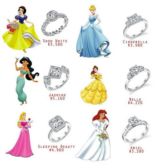 disney wedding bands