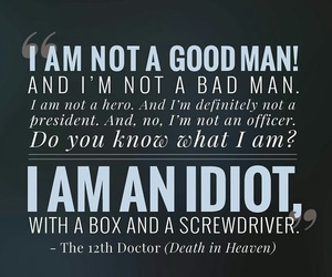 doctor who idiot