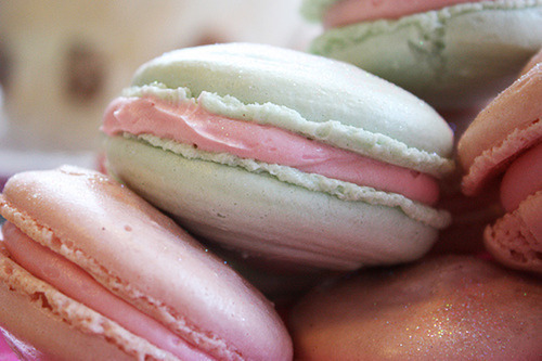 cookies, mint green, pink - inspiring picture on Favim.com