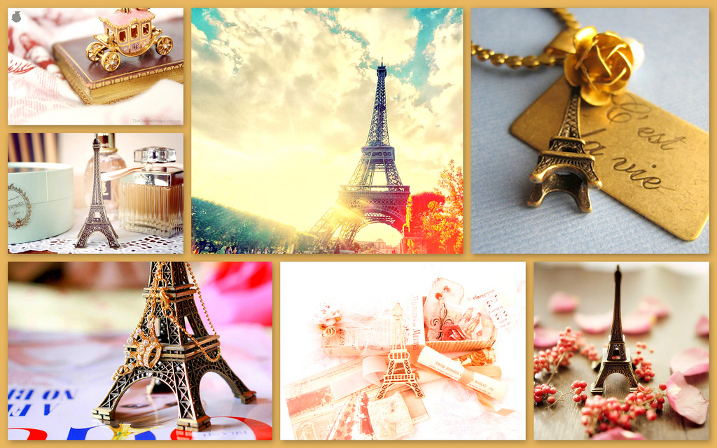 Vintage Photography Collage