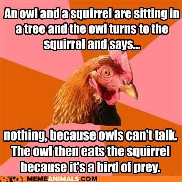 The reason commas are so important *funnies* - CafeMom Anti Joke Chicken Meme