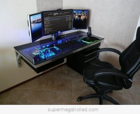 cool computer desks on cool computer case desk on we heart it visual