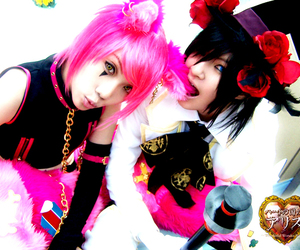 cheshire cat & mad hatter