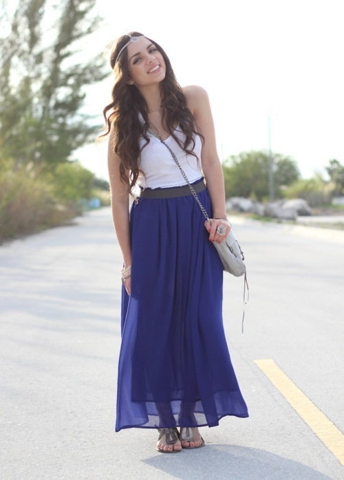 Cute Outfits With Long Skirts Tumblr | www.pixshark.com ...