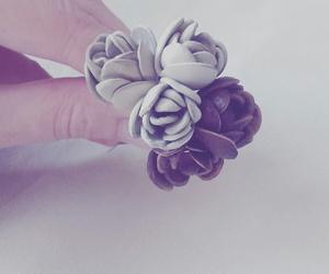 leather roses handmade