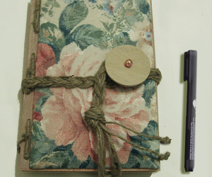 diary journal floral