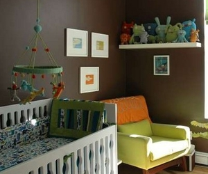 child nursery interior home