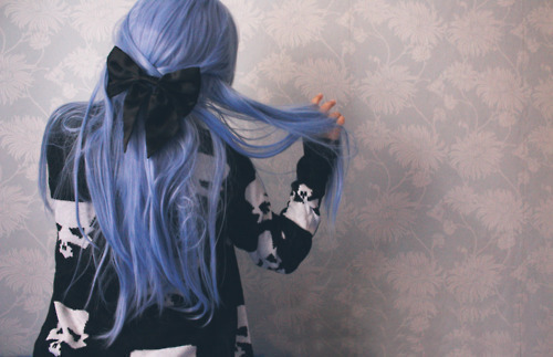 Black-bow-blue-hair-bow-favim.com-340602_large