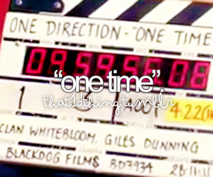one time