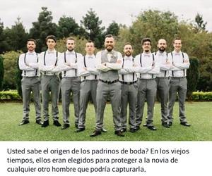 boda caballeros de honor.