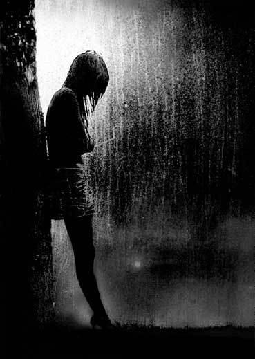 Rain in my heart.
