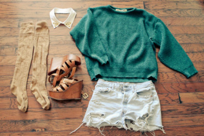 Cloth-cute-fashion-green-short-favim.com-342406_large