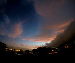 céu sky night sunset