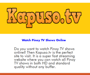 watch pinoy tv shows