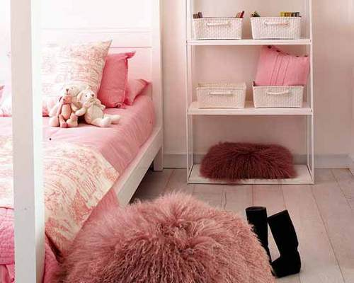 Pretty Girls Room Interior Ideas in Pink and White Decor | Niriti ...
