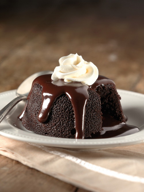forever young - in-my-mouth: chocolate lava cake