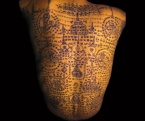 buddhist monk tattoo
