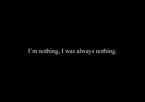 Nothing; by weheartit.com/kimeezy