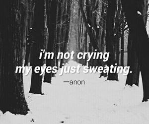 crying