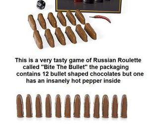 russian roulette - Google Images on We Heart It