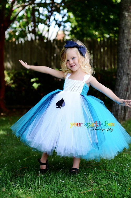 alice in wonderland tutu dress halloween costume