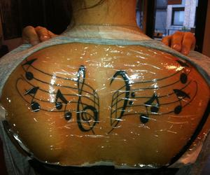 tattoo music notes