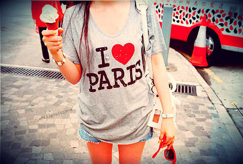I love paris ;)
