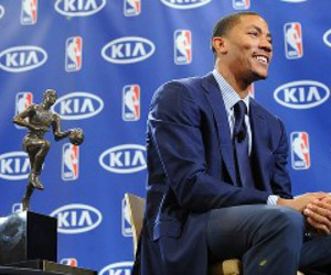 derrick rose mvp player