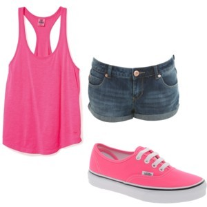 Sets that matched vans - Polyvore