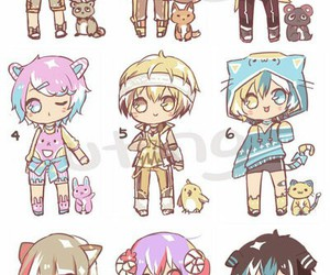 desings clothes anime