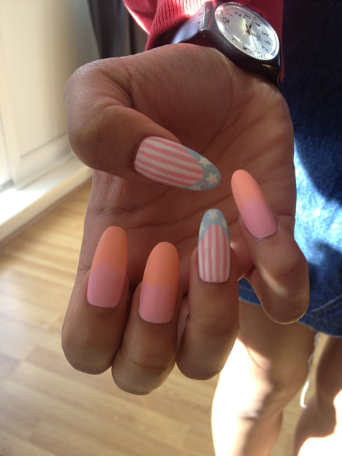 Young, Broke, & Talented (MCMXCII) | prettynailswag: gettinailed: Matte pastel...