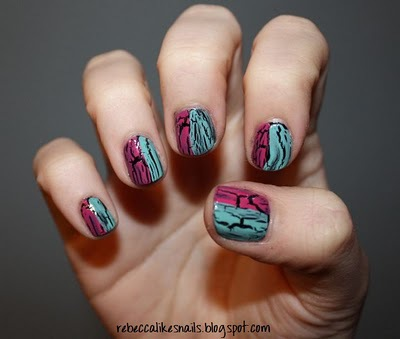rebecca likes nails: crackle