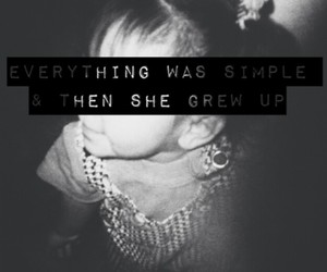 everything was simple