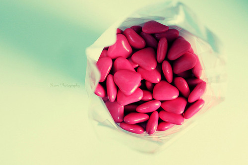 Candies,Food,Heart,Sweet - inspiring picture on PicShip.com